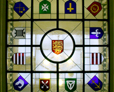 Parish crest window